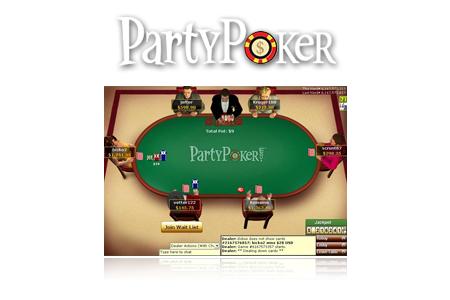 Salle de poker PartyPoker